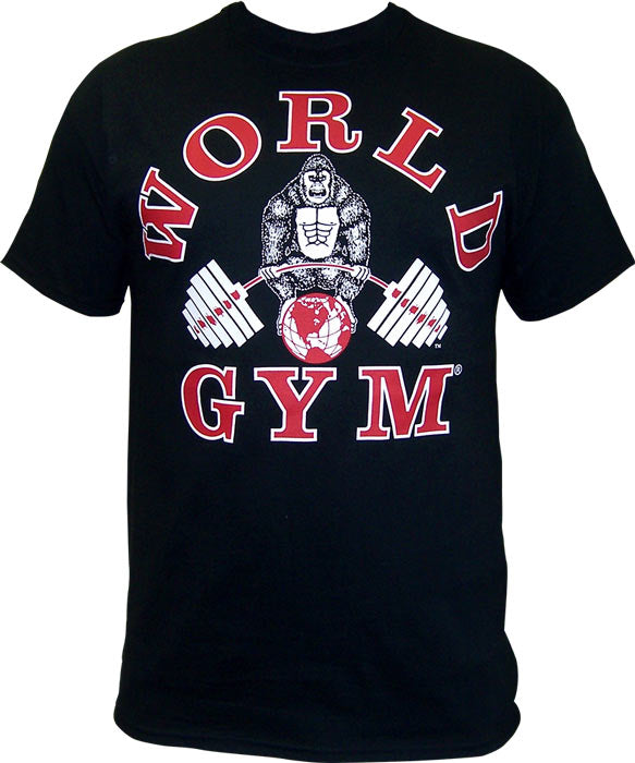 World Gym - Classic Tee (Camisa Original)