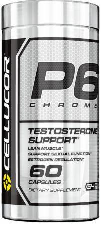 Cellucor - P6 Chrome Testosterona Suporte 60 Caps - NutriVita