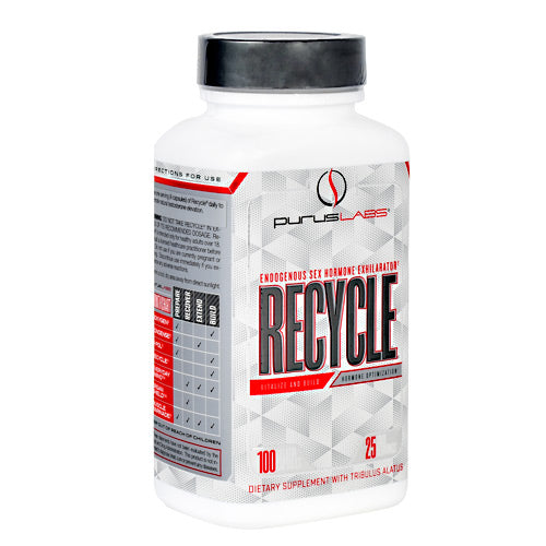 Purus Labs - Recycle 100 Caps Natural Hormone Testosterone Exhilirator