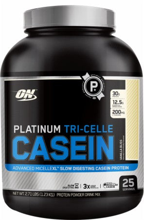 Optimum Nutrition - Platinum Tri-Celle Caseina 25 Doses (1.08 Kg) - NutriVita