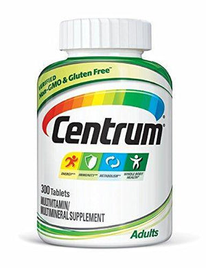 Centrum Adultos Multivitamina 300 Tablets - NutriVita