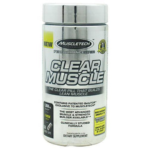 MuscleTech - Clear Muscle 84 Capsulas - NutriVita