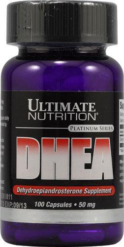 Ultimate Nutrition - DHEA 50mg 100 Caps - NutriVita