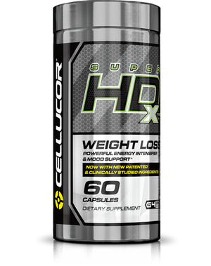 Cellucor Super HD Xtreme 60 Capsulas - NutriVita
