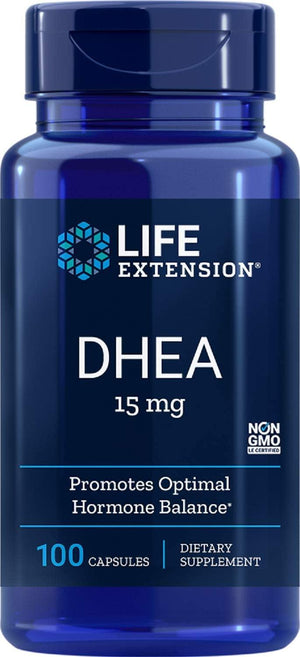 Life Extension DHEA 15 mg, 100 Capsulas