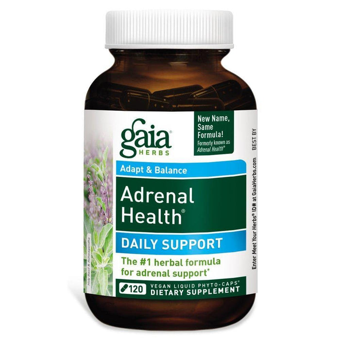 Gaia Herbs Adrenal Health Daily Support 120 Caps
