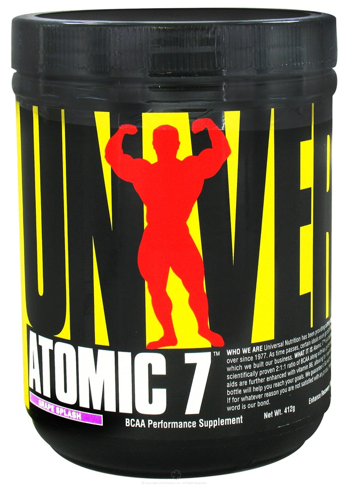 Universal Nutrition - Atomic 7 BCAA Performance - 384 Grams
