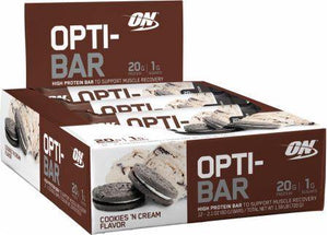 Optimum Nutrition Opti-Bar 12 - 60g Bars - NutriVita