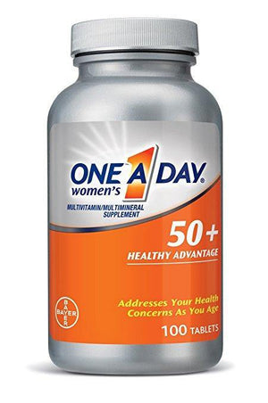 One A Day - Mulheres com mais de 50, Advantage Multivitamina 100 Tablets - NutriVita