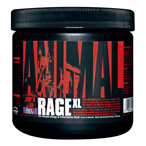 Universal Nutrition - Animal Rage XL 30 Doses