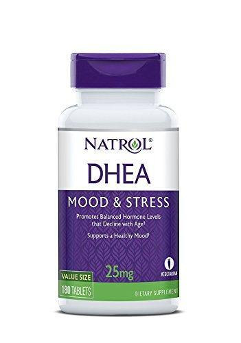 Natrol DHEA 25mg 180 Tablets