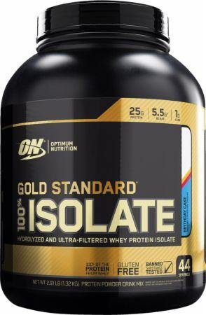 Optimum Nutrition Gold Standard 100% Isolate 44 servings (1.32 Kg)