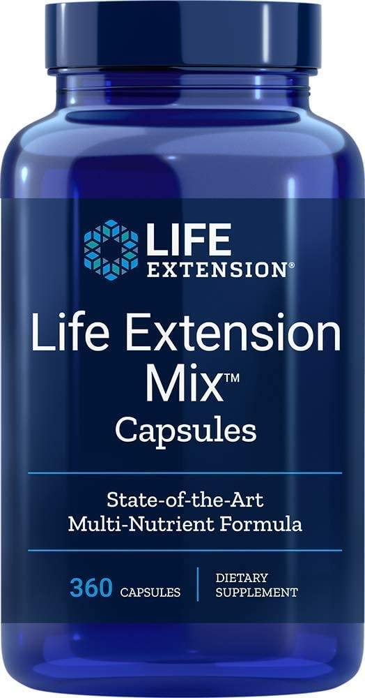 Life Extension Multivitamina Mix 360 Tablets