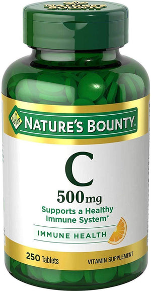 Natures Bounty Vitamina C 500 Mg 250 Tablets - NutriVita