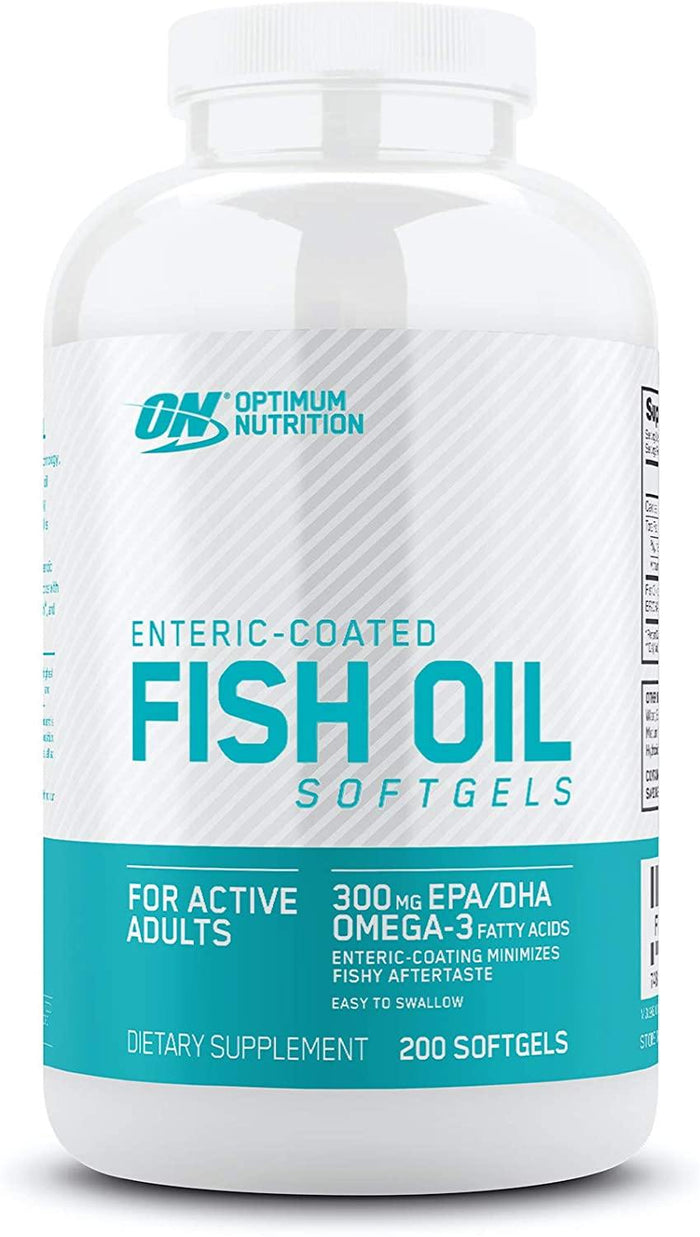 Optimum Nutrition Fish Oil 300 MG 200 Softgels