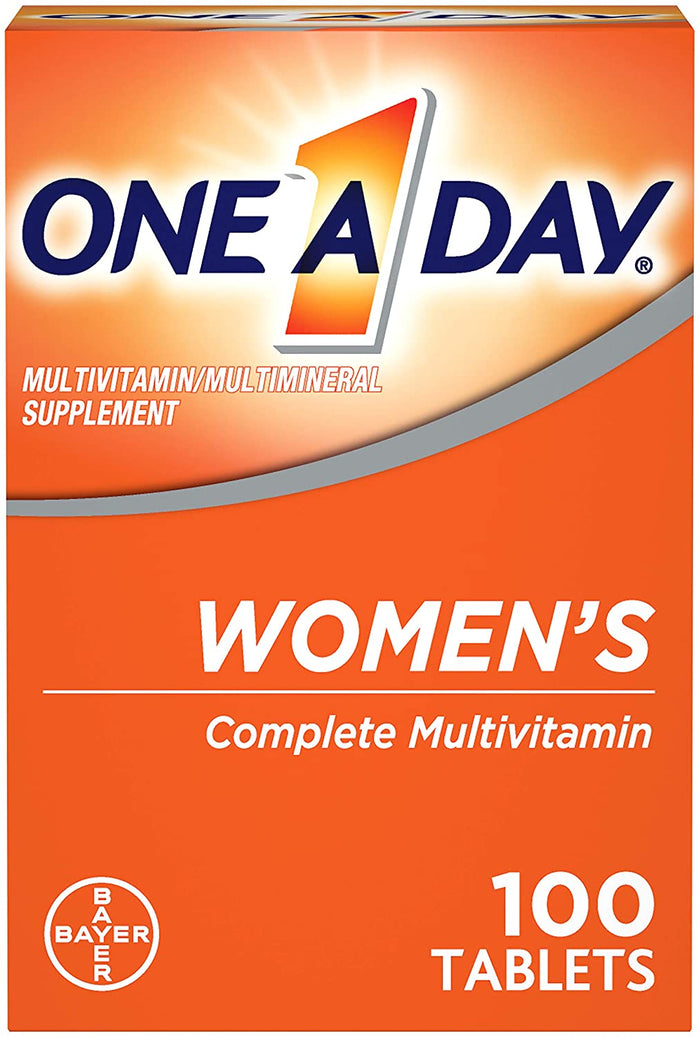 One A Day - Women's Multivitamin 100 Caps (Multivitamina para Mulheres)