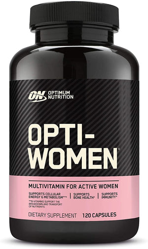 Optimum Nutrition - Opti-Women Multivitamina - 120 Capsulas