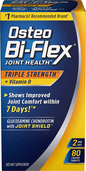 Osteo Bi-Flex - Triple Strength Advanced Joint Care 80 Capsulas - NutriVita