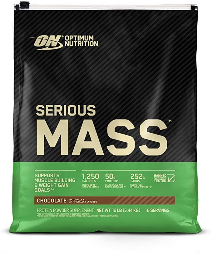 Optimum Nutrition - Serious Mass - 12 lbs (5.44 Kg)