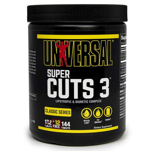 Universal Nutrition - Super Cuts 3 - 130 Tablets - NutriVita