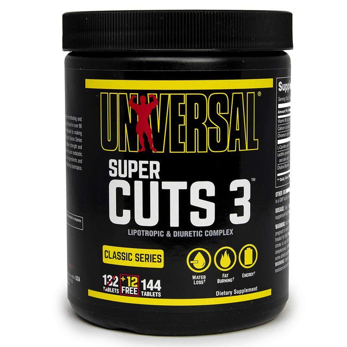 Universal Nutrition - Super Cuts 3 - 130 Tablets