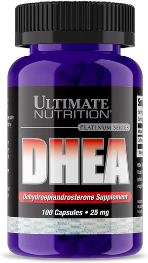 Ultimate Nutrition - DHEA 25mg 100 Caps