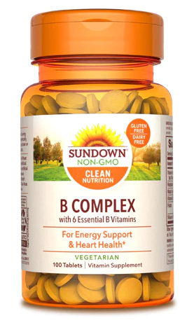 Sundown Naturals Vitamina C 500 mg, 100 Capsulas de Ação Prolongada