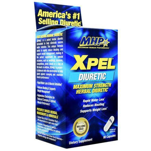 MHP - Xpel Maximum Strength Diuretic 80 Capsulas - NutriVita