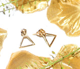 Dainty Geometric Earrings