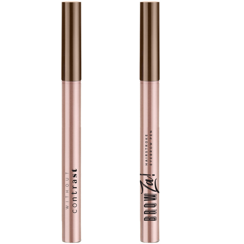BrowZa! Hairstroke Eyebrow Pen: Medium Brown