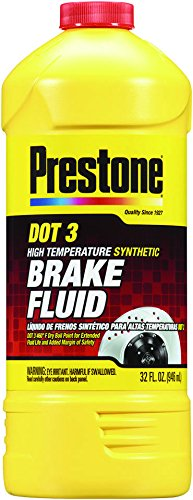 AS401Y Prestone AS401 DOT 3 Synthetic Brake Fluid