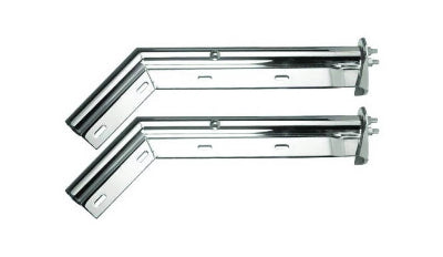 CP247586 Mudflap Hanger Set Chrome