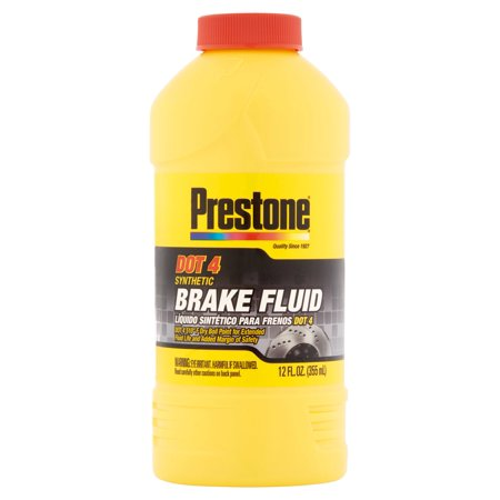 AS800Y Prestone DOT 4 Synthetic Brake Fluid