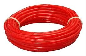 "Air Tubing 3/8"" Red"