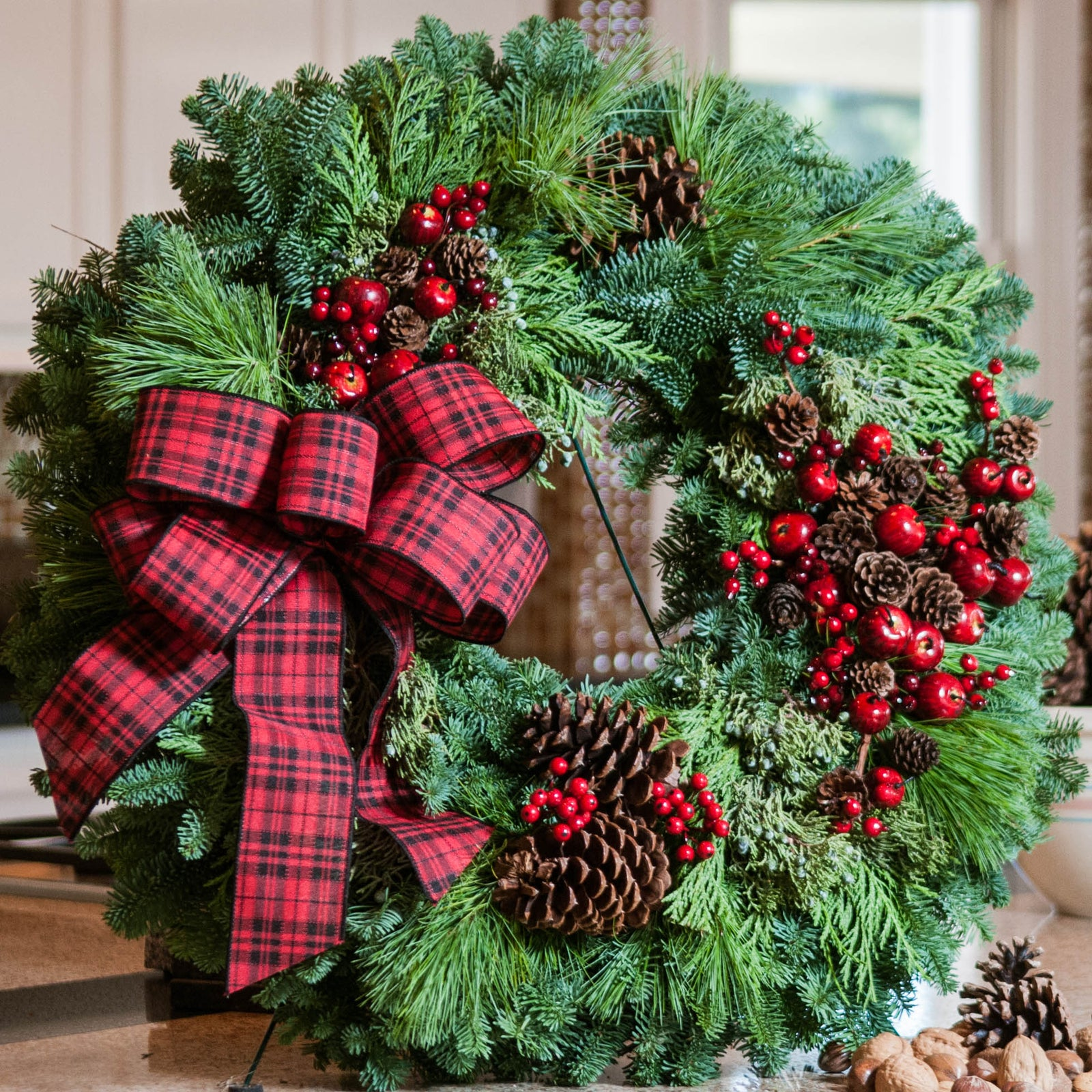 Fresh Christmas Wreaths.Lynch Creek Farm Fresh Christmas Wreaths Centerpieces And