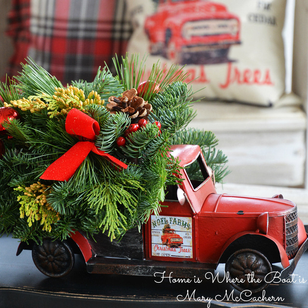 Christmas Vintage Truck