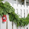 Fresh Premium garland combination of noble fir, incense and western red cedar and white pine is ultra fragrant