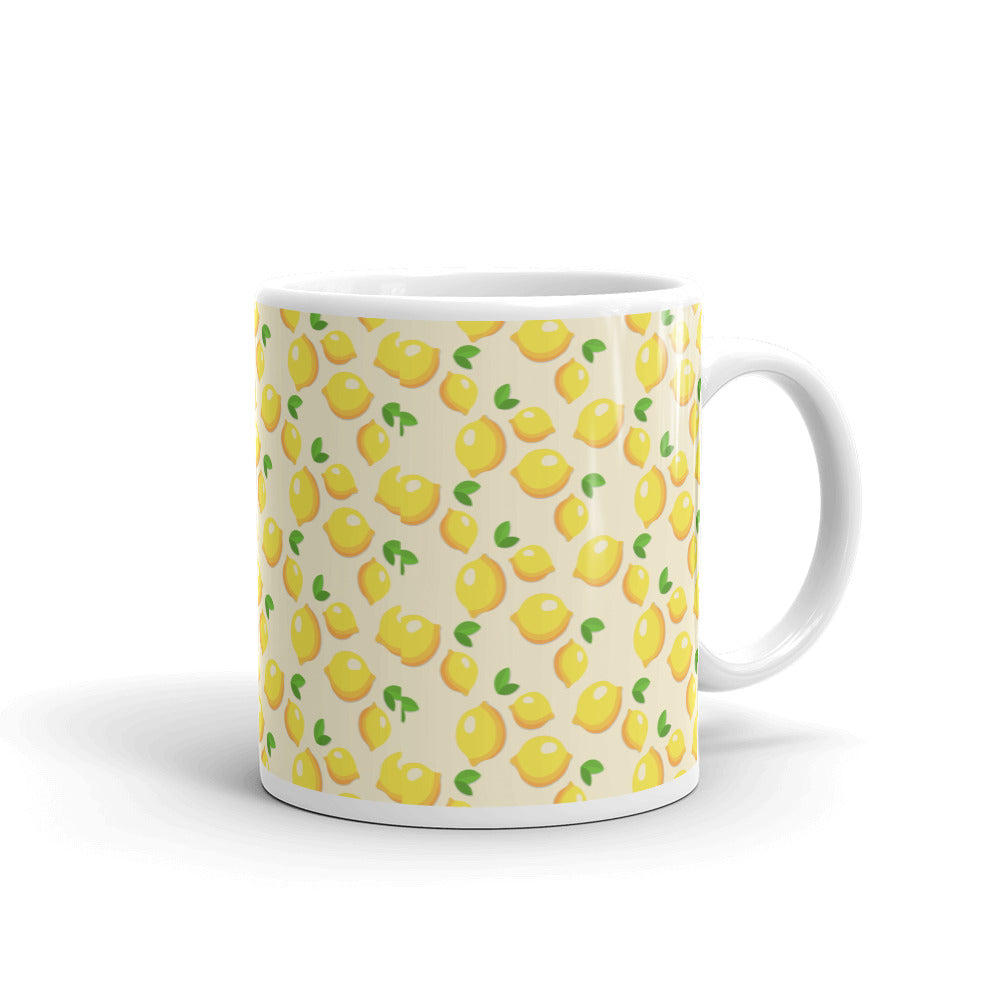When Life Gives You Lemons | White Glossy Mug