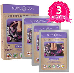 Foot Peel Mask 3 Pack