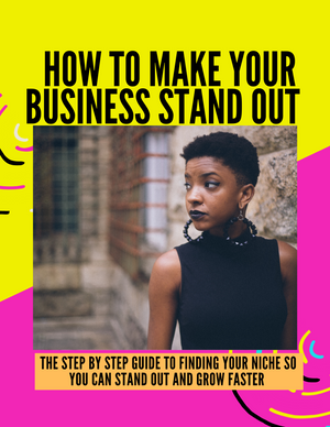 Make Your Business Stand Out E-book--Digital Product