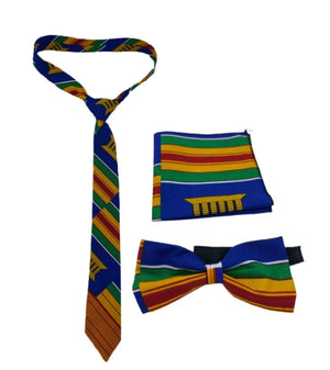 Tie, Bow tie, and Pocket Square Set