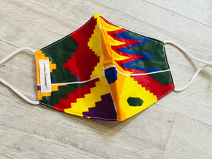 Border Tribe Child Mask with filter pocket*