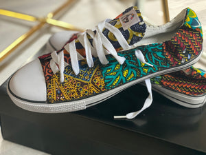 Aloha Glamour Low-Top Designer Sneakers