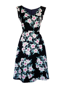 Robe LINDA flowers
