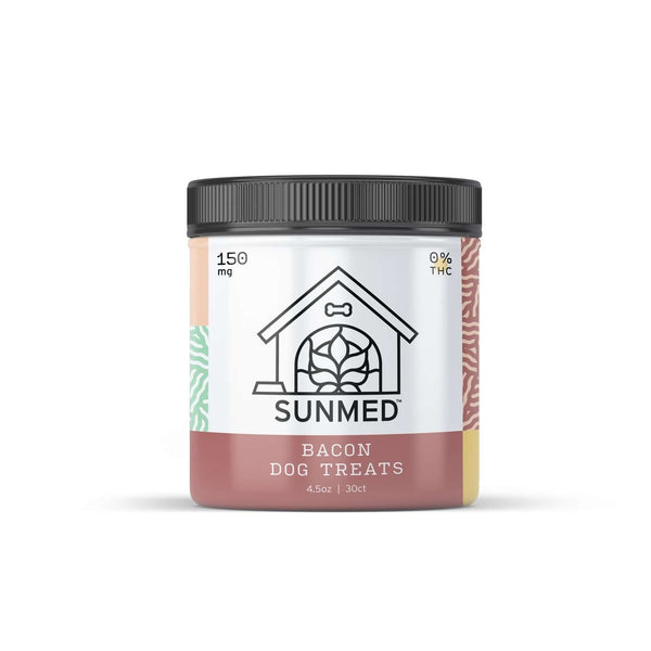 Your CBD Store  150mg Bacon Dog Treats -  Pet Products