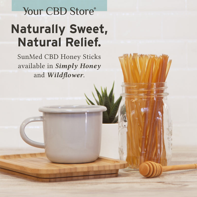 Your CBD Store  10mg Honey Stick -  Edibles