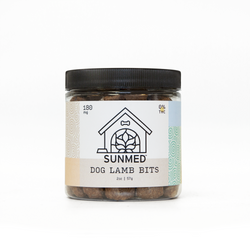 Your CBD Store  180mg Lamb Bites -  Pet Products