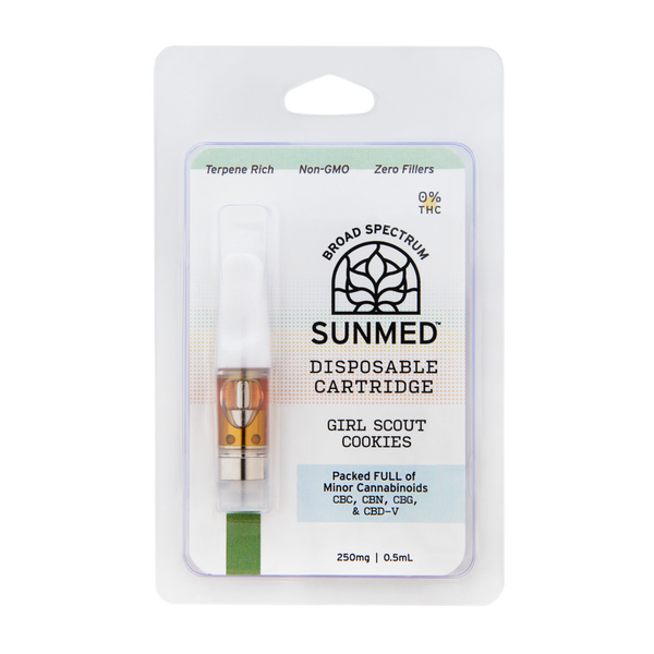 250mg Girl Scout Cookie Vape Cartridge