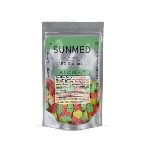 Your CBD Store  Sour Bears -