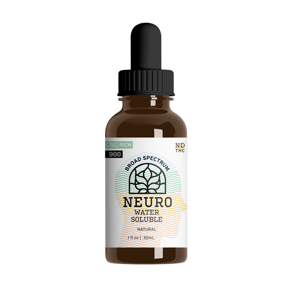 Your CBD Store  900mg Neuro - CBG Rich Neuro Water Soluble 0 THC -  Water Soluble